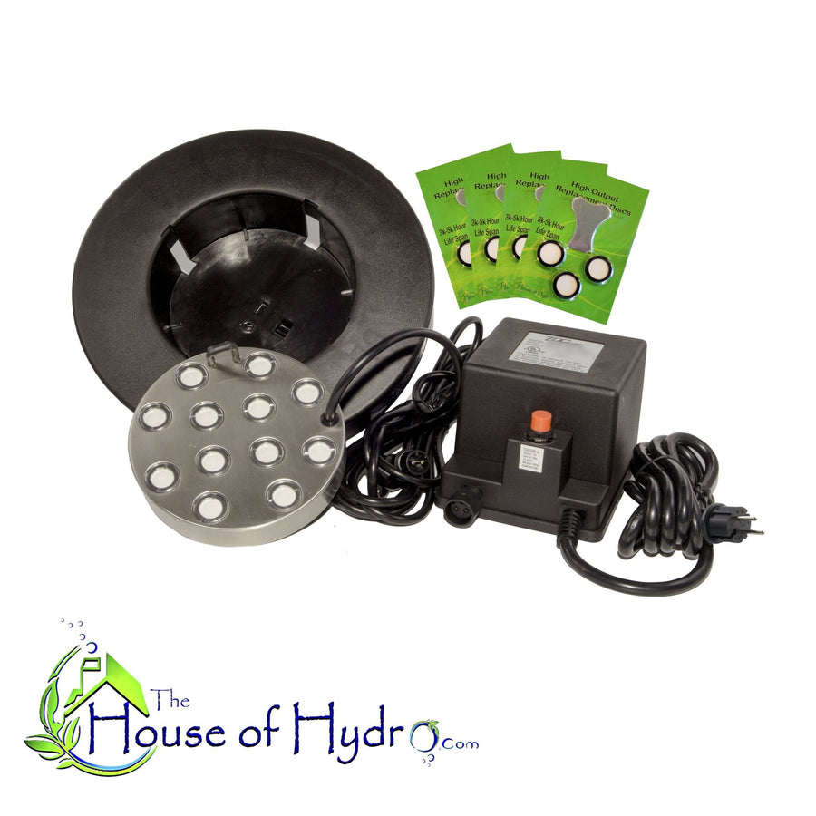 12 Disc Mist Maker with Float and Spare Discs - The House of Hydro