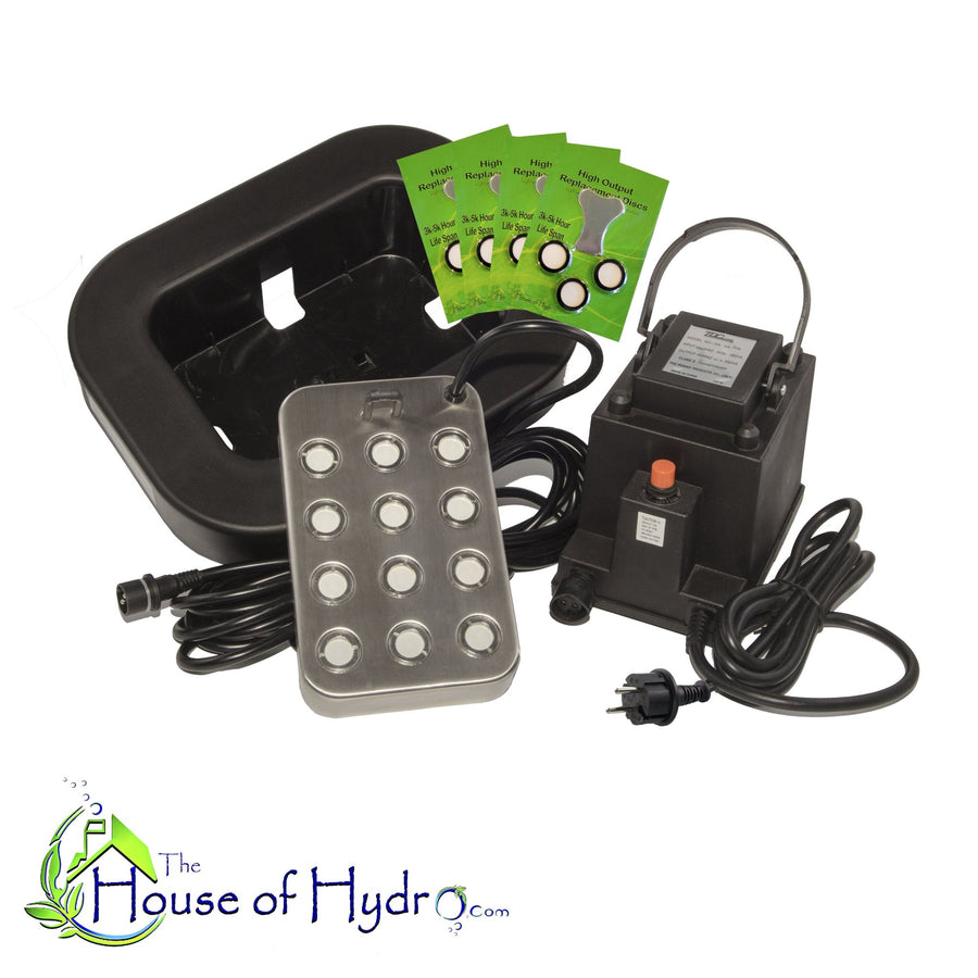 12 Disc XL Mist Maker with Float and Spare Discs - The House of Hydro