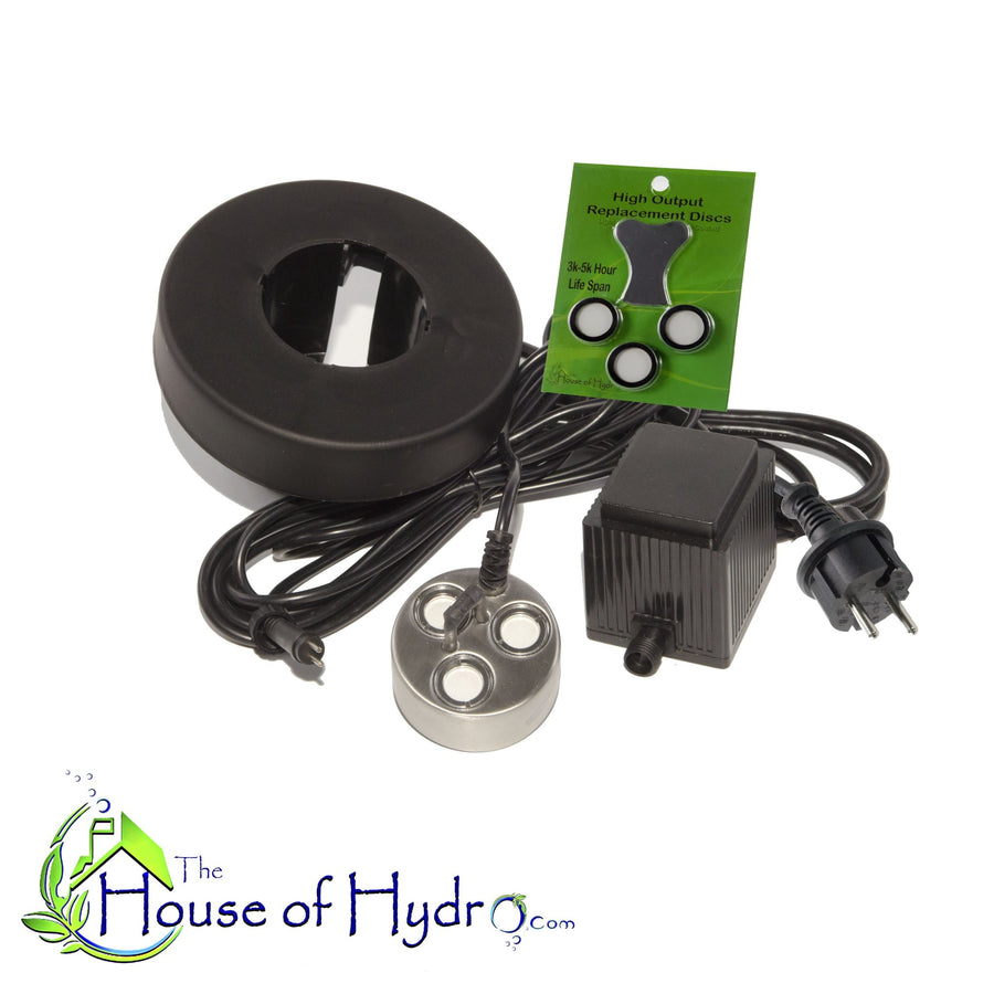 3 Disc Mist Maker with Float and Spare Discs - The House of Hydro