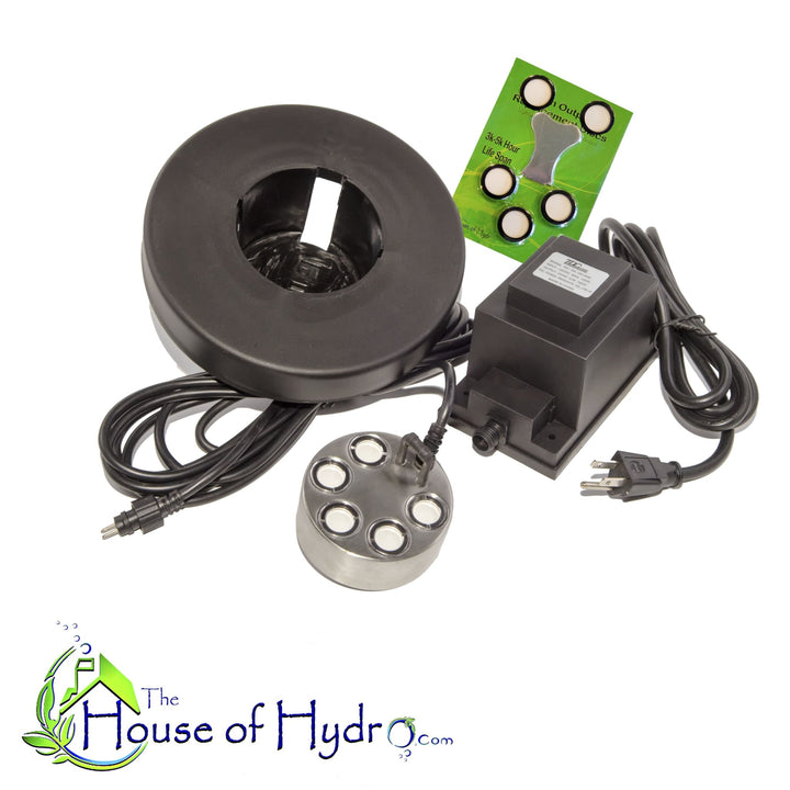 5 Disc Mist Maker with Float and Spare Discs - The House of Hydro