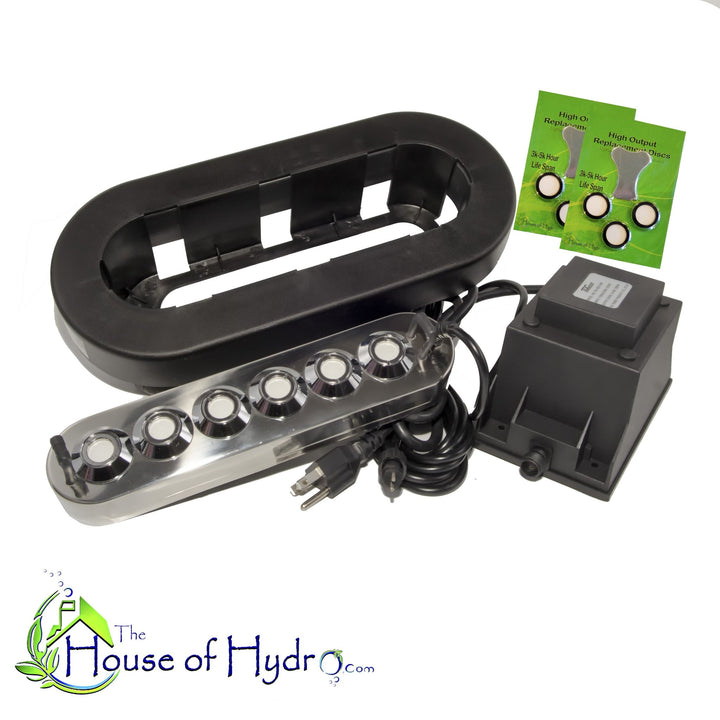 6 Disc Mist Maker with Float and Spare Discs - The House of Hydro