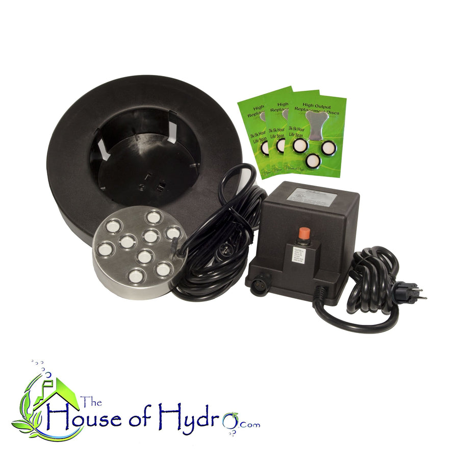 9 Disc Mist Maker with Float and Spare Discs - The House of Hydro