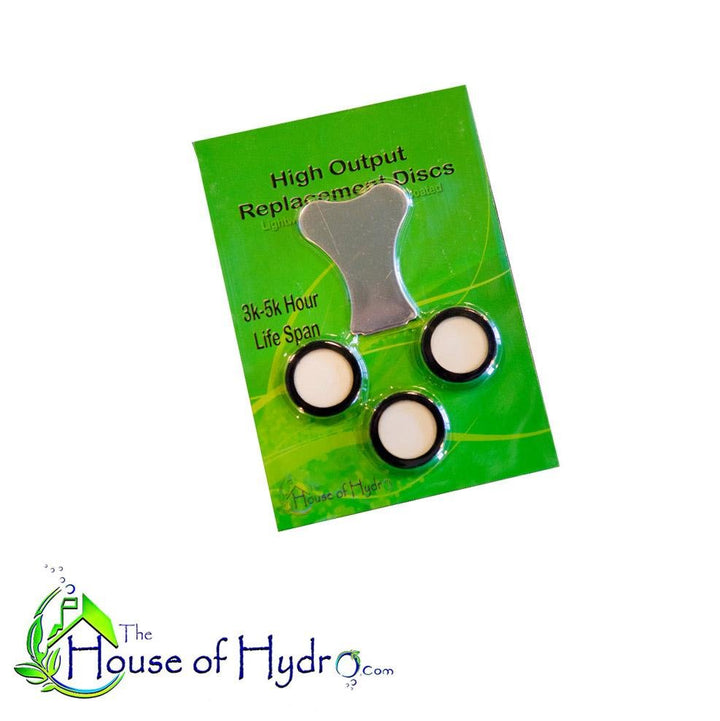High Output Replacement Discs - The House of Hydro