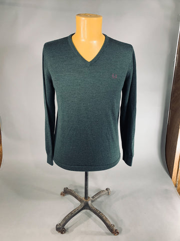 FRED PERRY WOOL V NECK