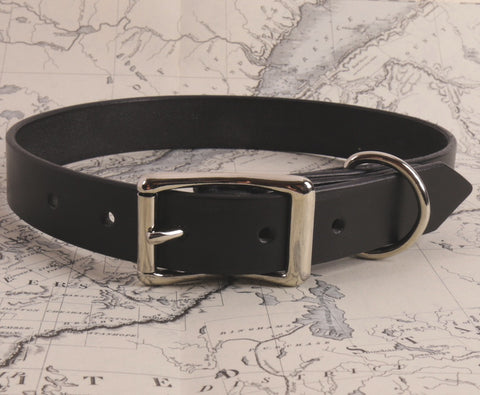 BLACK DOG COLLAR - X LARGE