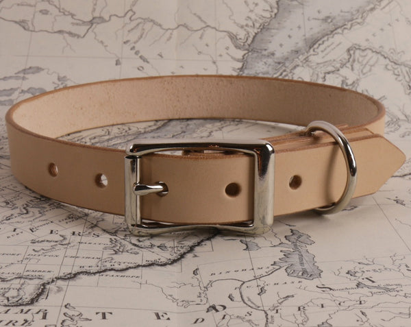 TAN DOG COLLAR - X LARGE