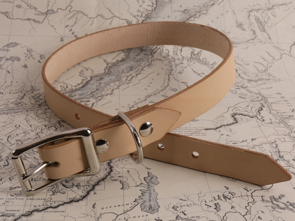 TAN DOG COLLAR - LARGE