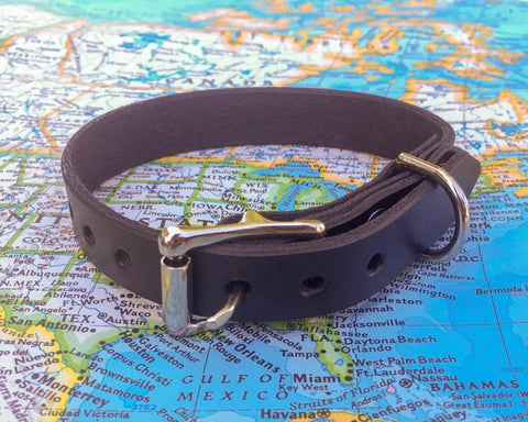 BLACK DOG COLLAR - SMALL