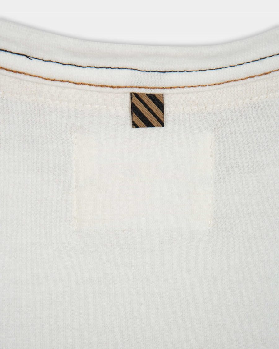 CONTRAST STITCH RINGER TEE
