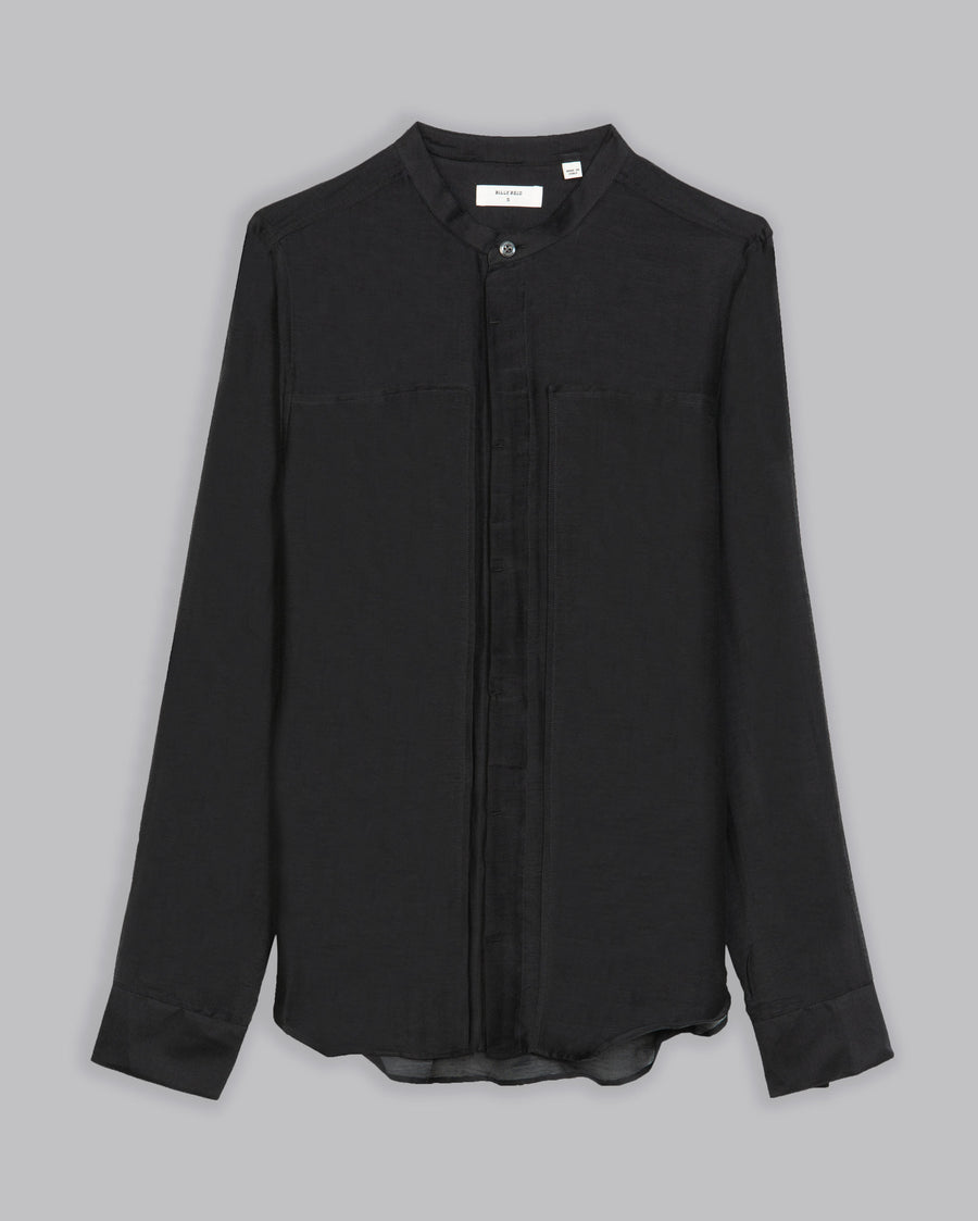 PANELED SLIM SHIRT