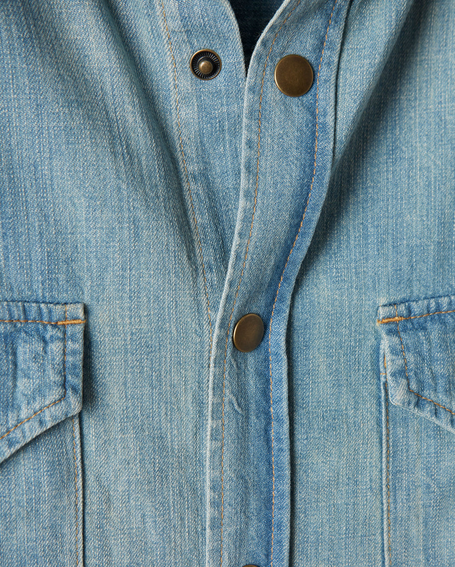 DENIM SHIRT DENIM WASH