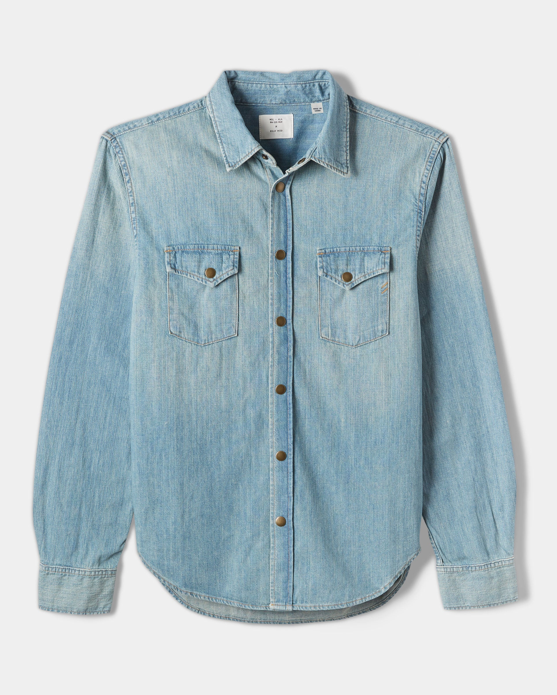 Billy Reid Denim Shirt