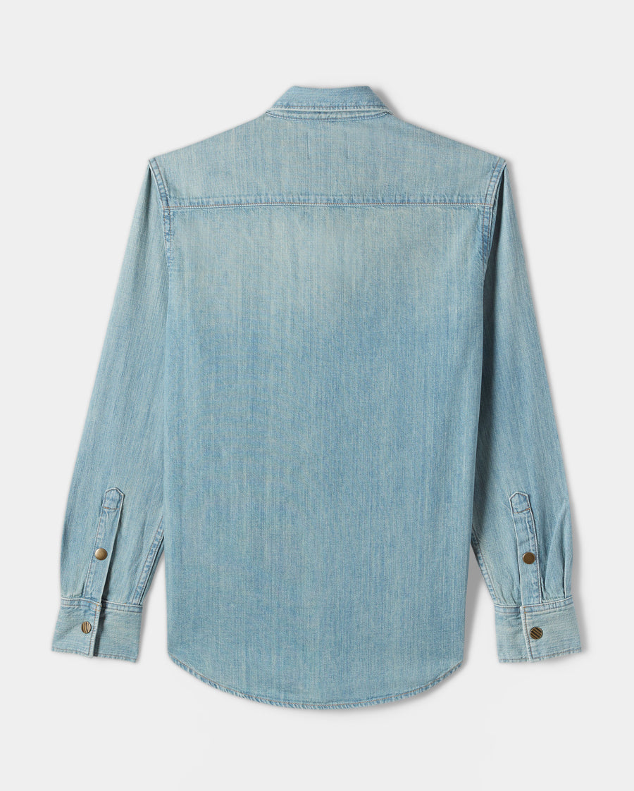 DENIM SHIRT- DENIM WASH