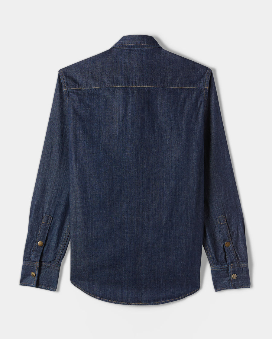 DENIM SHIRT- RINSE WASH
