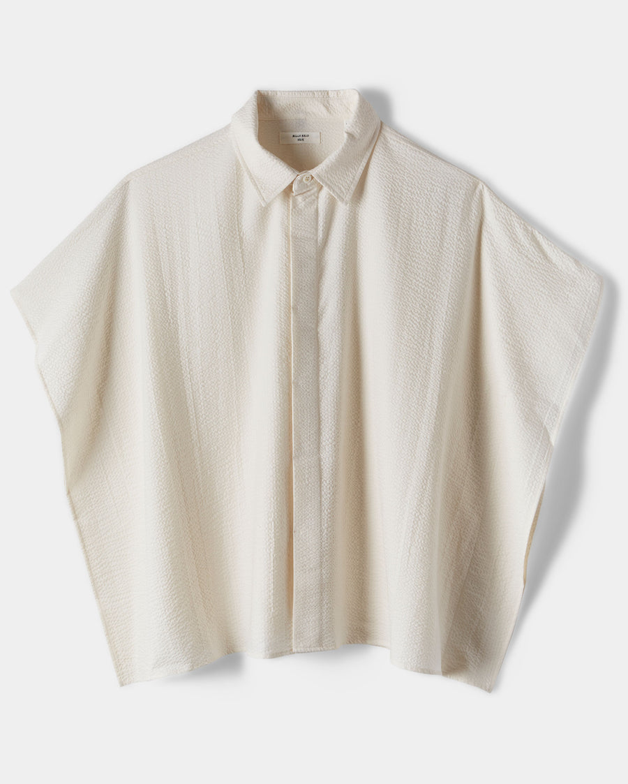 HAMMERED COTTON SHIRT