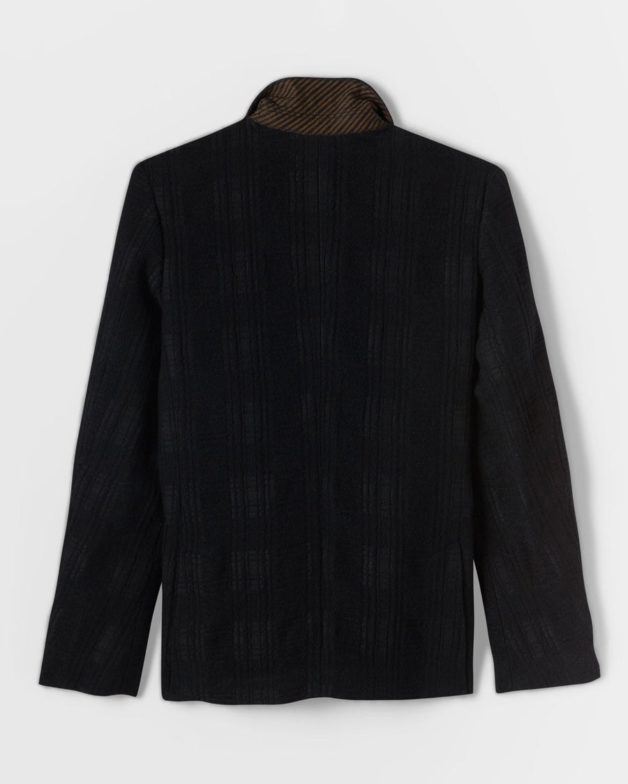 JACQUARD DOUBLE BREASTED JACKET