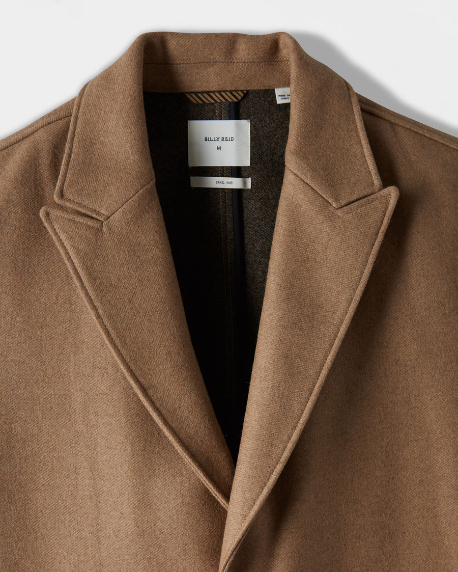 CAMEL HAIR GREGORY COAT