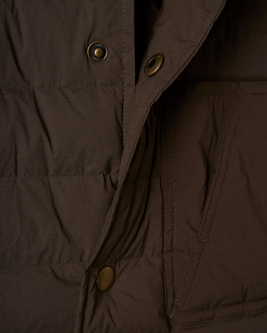 BAFFLE SHIRT JACKET
