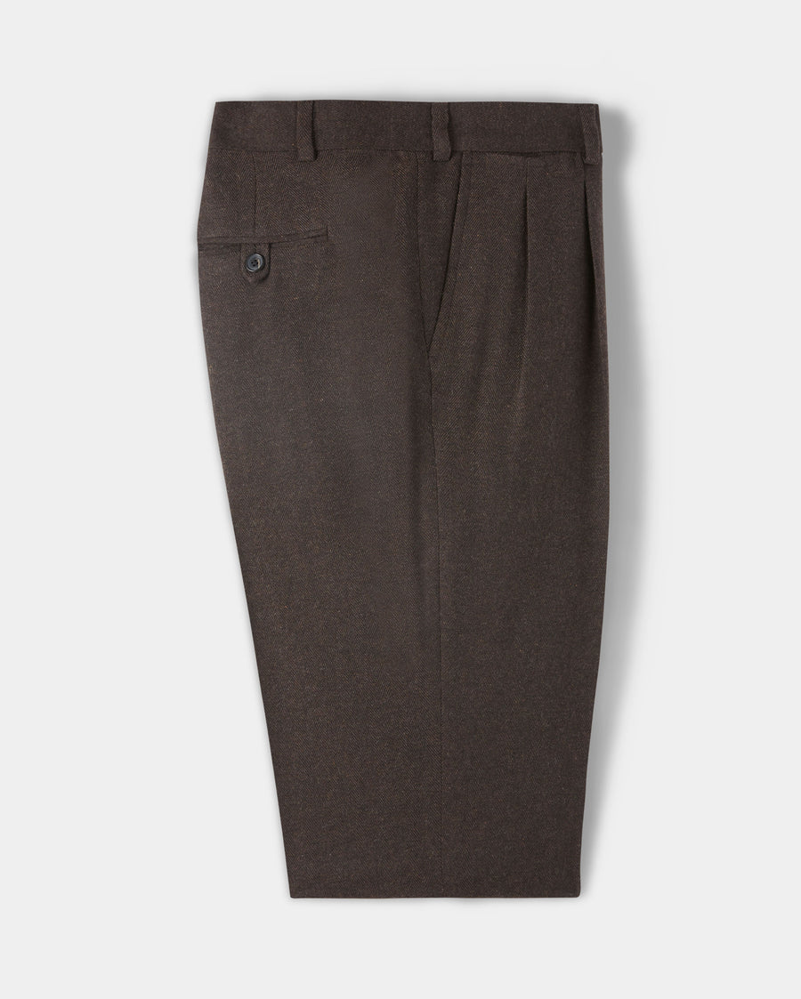 WALTON PLEATED TROUSER