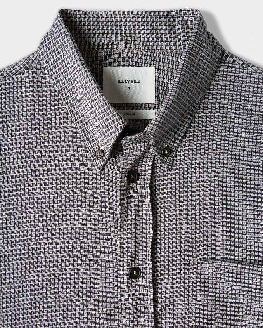 OFFSET POCKET SHIRT
