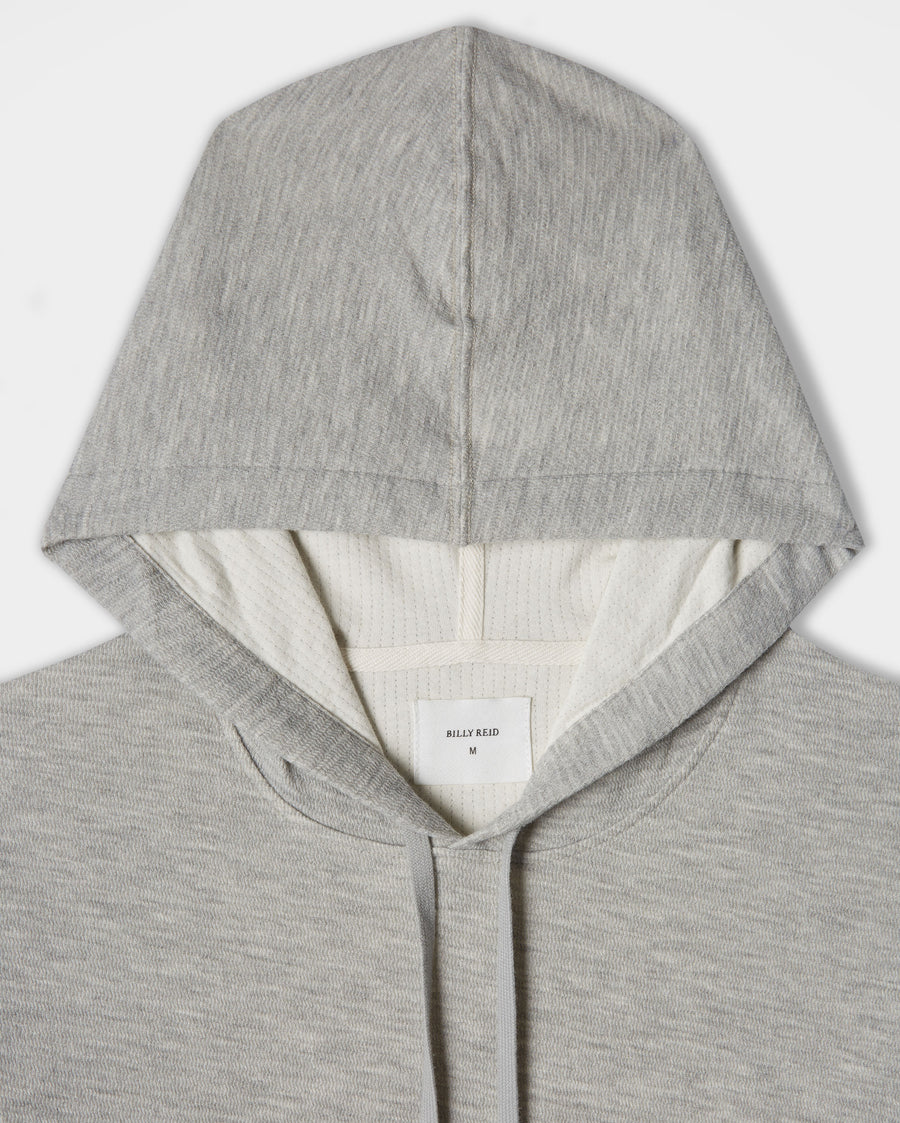 DOUBLE FACE KNIT HOODIE