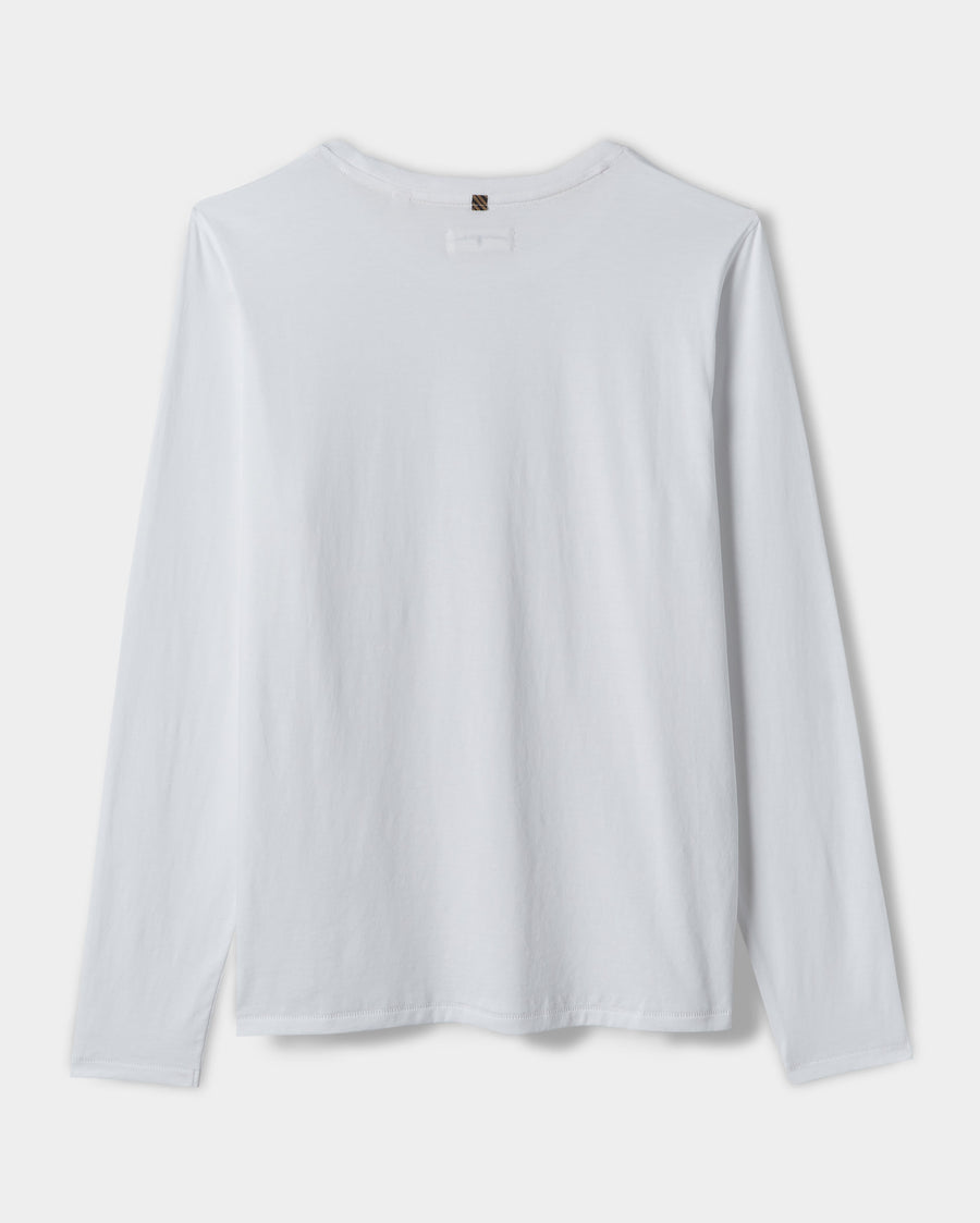 L/S PIMA COTTON TEE