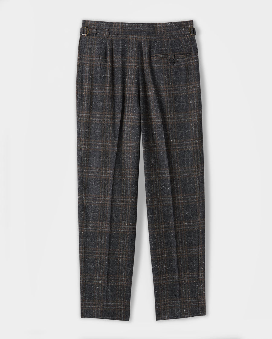 PANELED TAPERED TROUSER