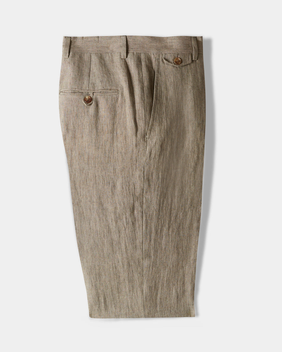 FLAT FRONT TROUSER