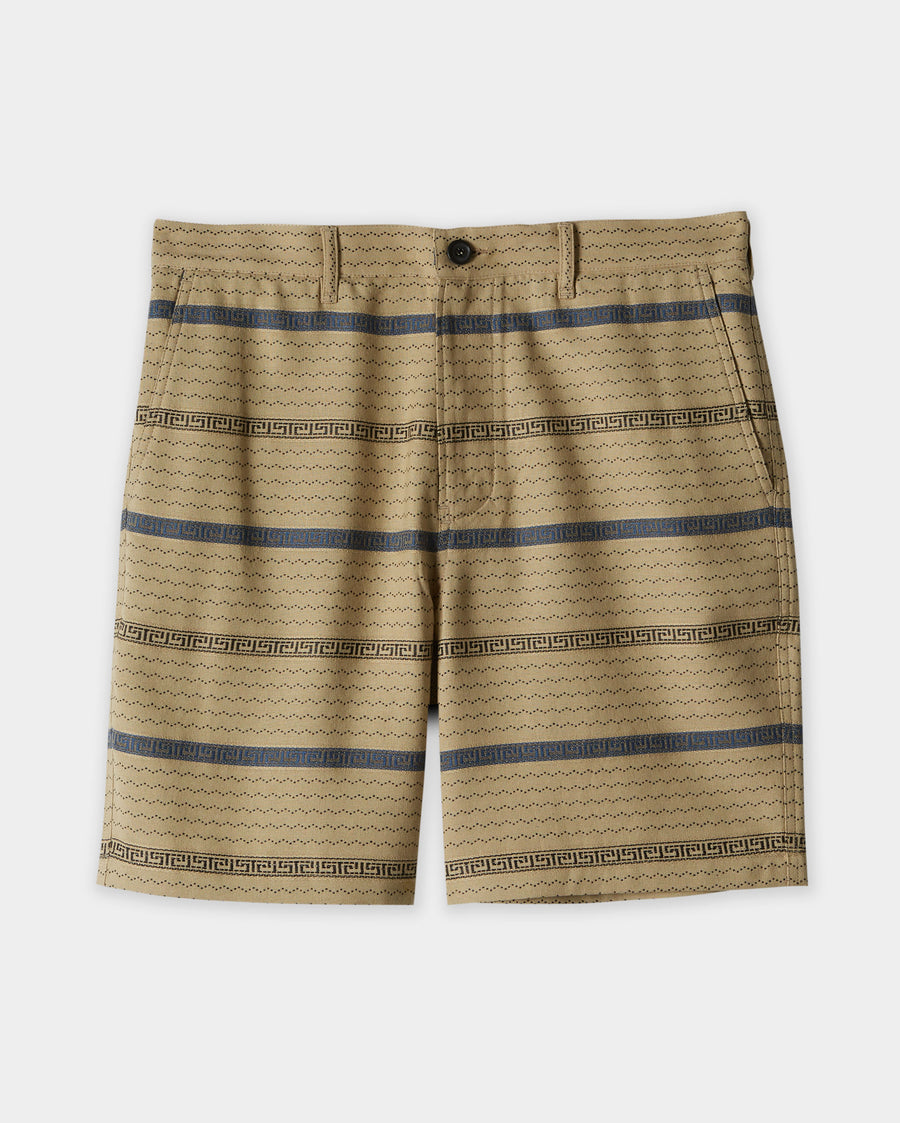 TEXTURED CHINO SHORT