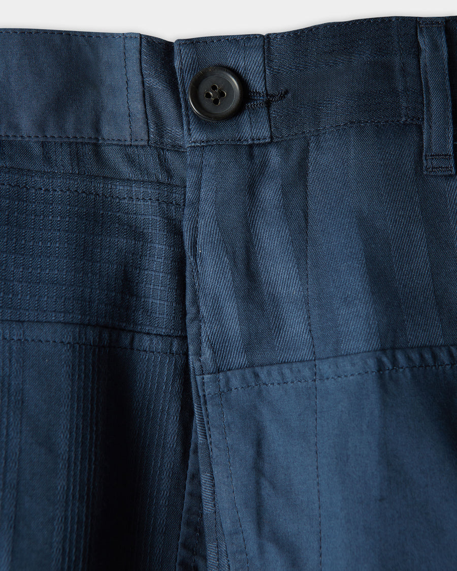 MADRAS TEXTURED CHINO SHORT