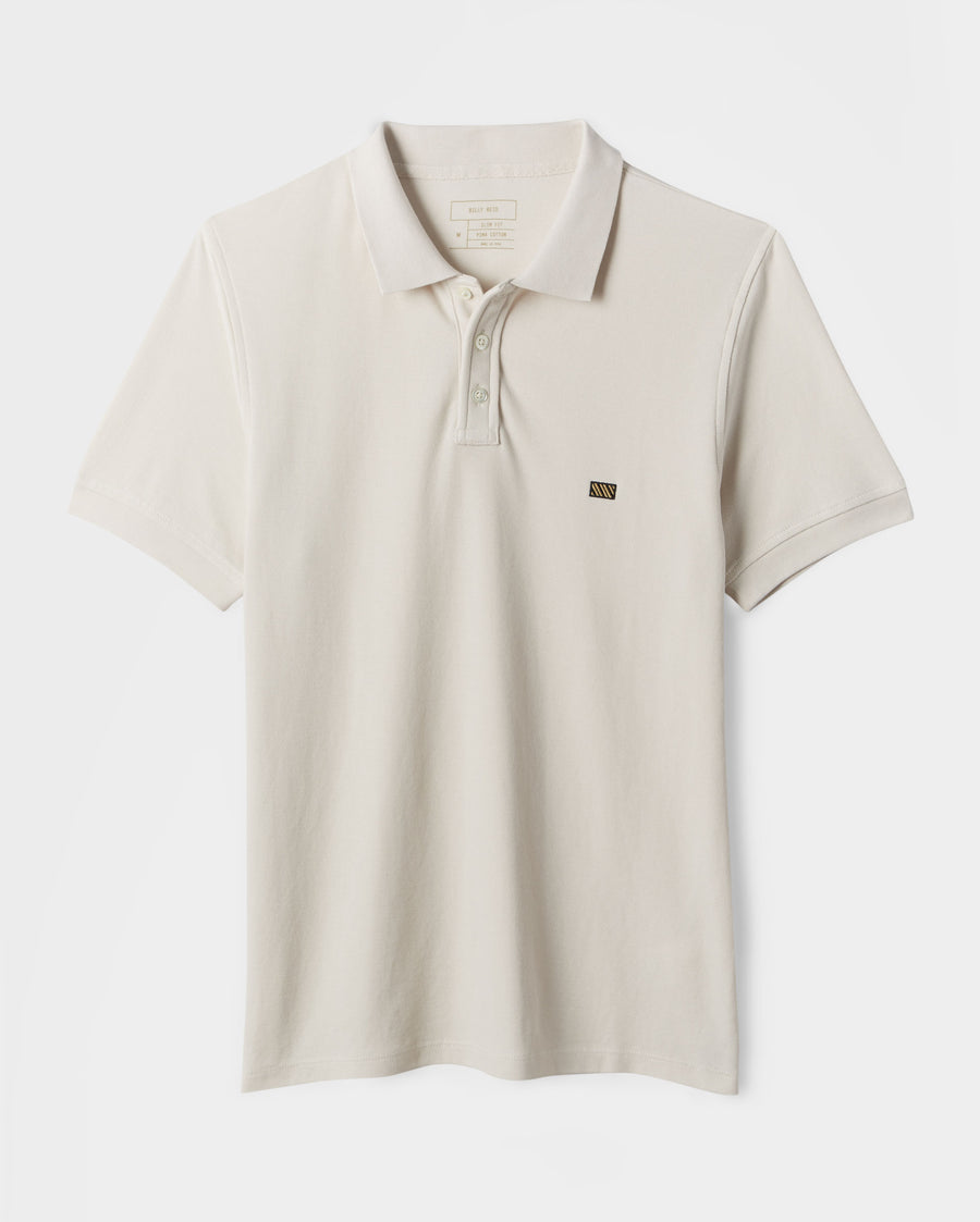 SLIM COTTON PIQUE POLO