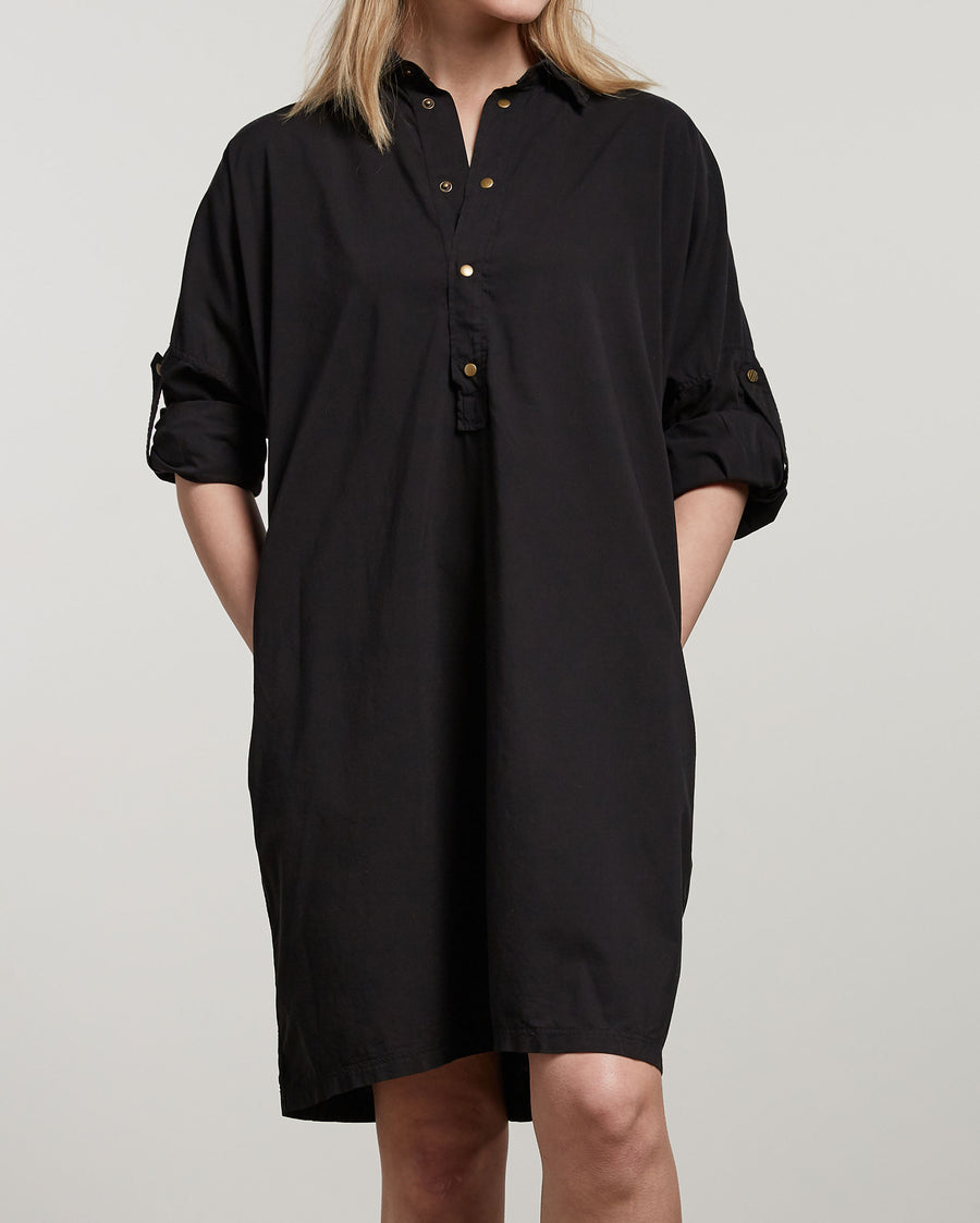 SNAP FRONT DOLMAN DRESS