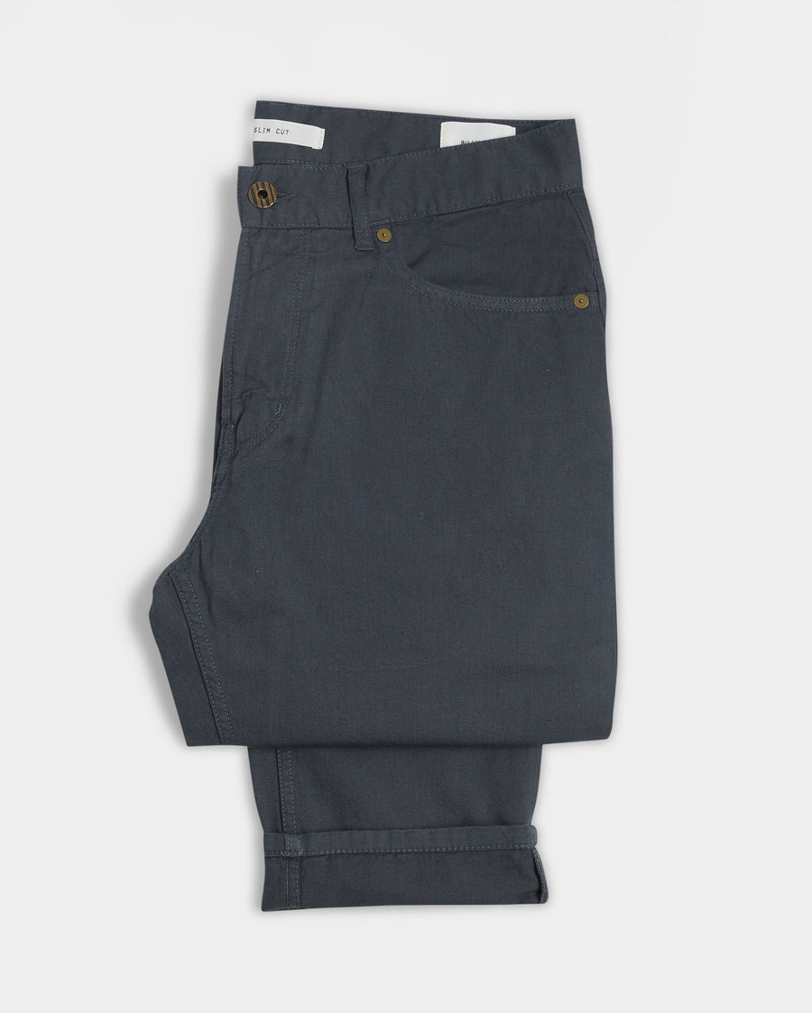 COTTON LINEN 5 POCKET PANT