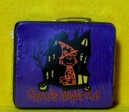 Lucy Witch Halloween Miniature Tin Lunch Box