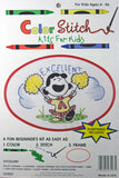 Color Stitch Kit For Kids - Lucy (Excellent)
