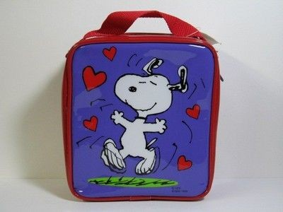 Snoopy Dancing Vinyl Purse