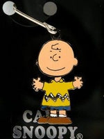 Charlie Brown Enamel Zipper Pull