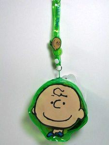 Charlie Brown Vinyl Keychain Purse
