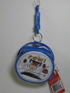 Charlie Brown Vinyl Key Chain Purse