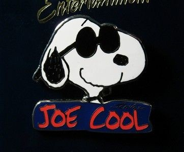 Joe Cool Name Pin