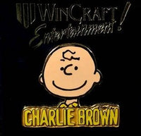 Charlie Brown Name Pin
