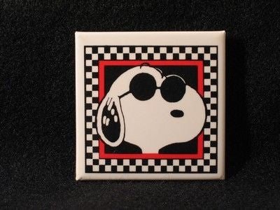 JOE COOL WITHIN CHECKERED FRAME PIN