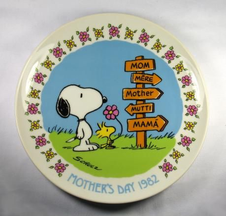1982 - Mother's Day Plate