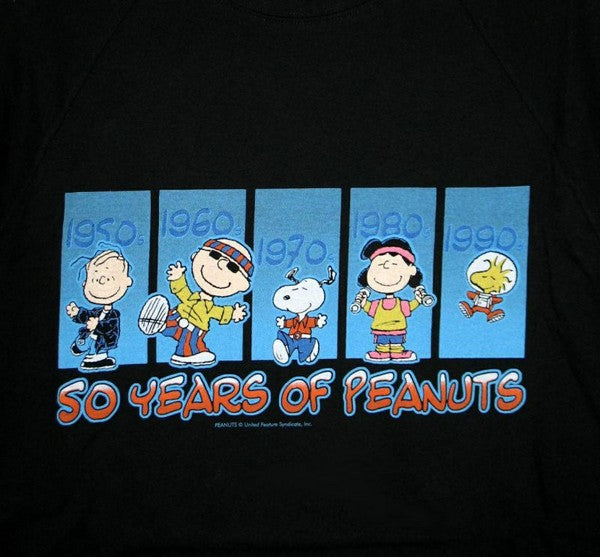 Peanuts Gang 50 Years T-Shirt