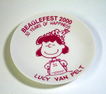 Beaglefest 2000 - Lucy Plate