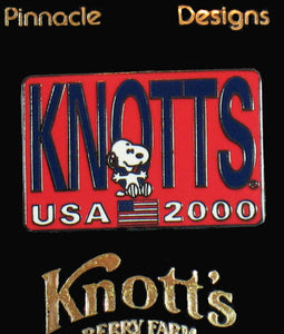 2000 Knotts USA Pin