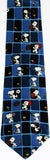 Snoopy Sports Silk Necktie
