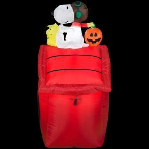 Flying Ace Halloween Lighted Inflatable