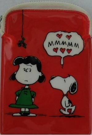 Lucy and Snoopy Vintage Change Purse
