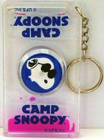 Camp Snoopy Liquid Spinner Key Chain